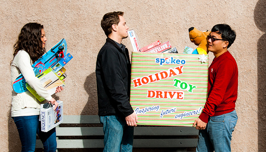 Spokeo Toy Drive