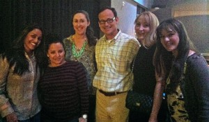 Spokeo Group with Andy Wilson and Sohpia Viklund, Co-organizer, Girl Geek Dinners LA