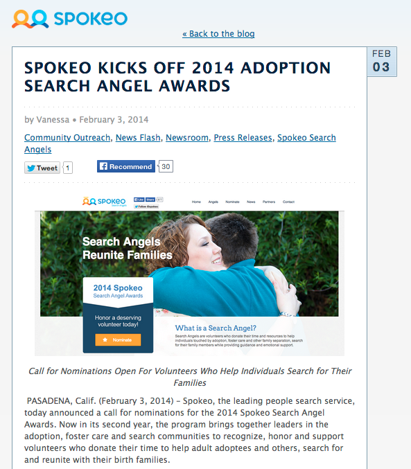 What Is A Search Angel? | Adoption.Org